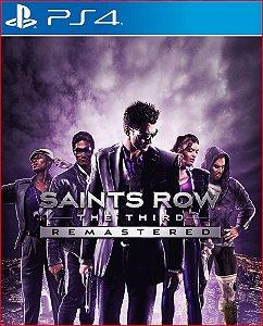 saints row the third remastered ps4 midia digital psn