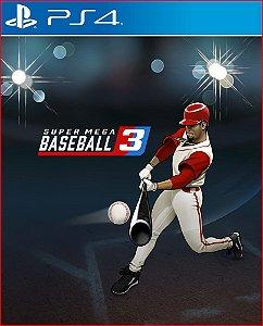 SUPER MEGA BASEBALL 3 PS4 MÍDIA DIGITAL