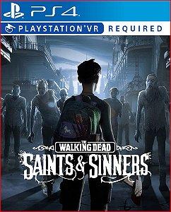 The walking dead: saints and sinners PS4 MÍDIA DIGITAL