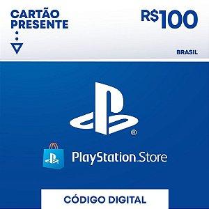 psn card | gift card cartão psn R$ 100 reais playstation network brasil