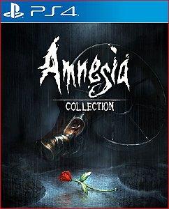 amnesia colecao ps4 psn midia digital promocao