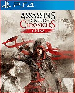 assassin's creed chronicles china ps4 mídia digital