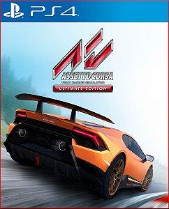 assetto corsa ultimate edition ps4 mídia digital promoção