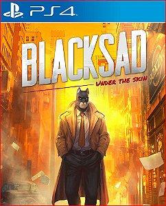 blacksad under the skin ps4 mídia digital promoção