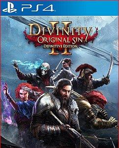 Divinity original sin 2 definitive edition PS4 MÍDIA DIGITAL