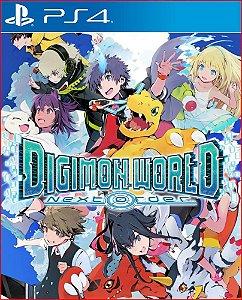 Digimon World: Next Order PS4 Mídia Digital