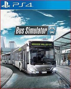bus simulator  ps4 português mídia digital