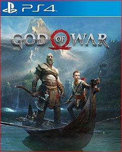 God Of War 4 midia digital ps4