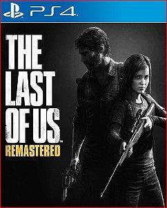 The last of us remastered PORTUGUÊS PS4 MÍDIA DIGITAL