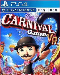 CARNIVAL GAMES VR PS4 | MÍDIA DIGITAL