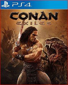 Conan exiles PS4 MÍDIA DIGITAL PORTUGUÊS