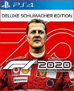 F1 2020 deluxe schumacher edition ps4 midia digital