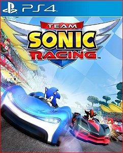 Team sonic racing PS4 MÍDIA DIGITAL