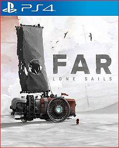 FAR LONE SALLS PS4 | MÍDIA DIGITAL - PROMOÇÃO