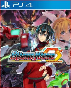 blaster master zero ps4 mídia digital