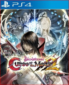 bloodstained curse of the moon 2 ps4 mídia digital