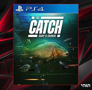 The catch carp and coarse PS4 MIDIA DIGITAL