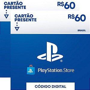 psn card | gift card cartão psn R$ 120 reais playstation network brasil