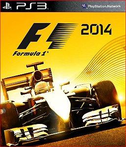 F1 2014 PS3 PSN PROMOÇÃO