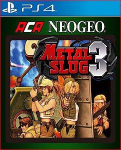 Aca Neogeo Metal Slug 3 PS4 MÍDIA DIGITAL