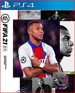 FIFA 21 Edição dos Campeões PS4 mídia digital
