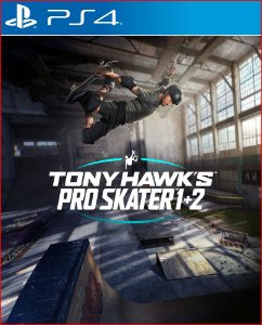 Tony Hawks pro skater 1 + 2 PS4 midia digital português