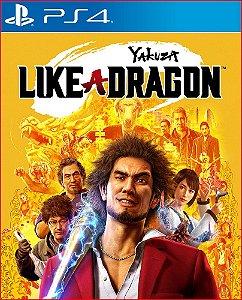 yakuza like a dragon ps4 mídia digital