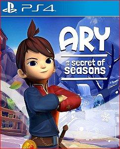 ary and the secret of seasons ps4 mídia digital