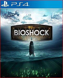 bioshock the collection ps4 mídia digital