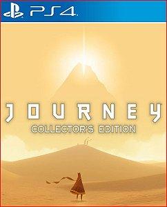 journey collectors edition ps4 midia digital promocao