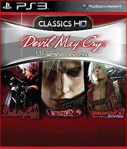 DEVIL MAY CRY HD COLLECTION PS3 PSN MÍDIA DIGITAL