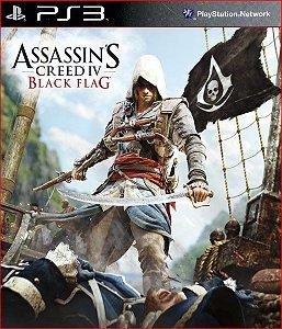 assassins creed iv black flag ps3 psn midia digital