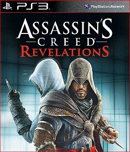assassins creed revelations ps3 psn mídia digital