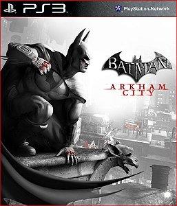 batman arkham cityt ps3 psn mídia digital