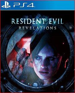 RESIDENT EVIL REVELATIONS PS4 MÍDIA DIGITAL | PROMOÇÃO