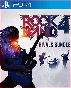 ROCK BAND 4 RIVALS BUNDLE PS4 MÍDIA DIGITAL