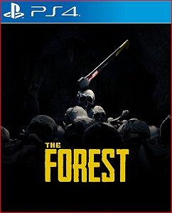 The forest PS4 MÍDIA DIGITAL