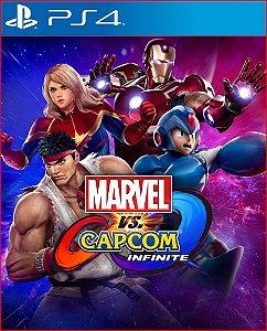 Marvel vs capcom infinite PS4 MÍDIA DIGITAL - PROMOÇÃO