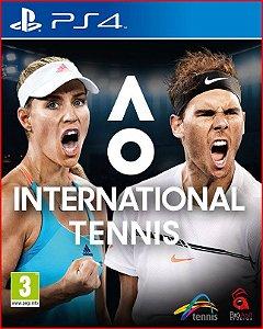 Ao International Tennis PS4 MÍDIA DIGITAL