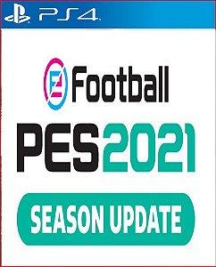 pes 2021 season update standard edition ps4 midia digital