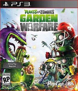 PLANTS VS. ZOMBIES GARDEN WARFARE PS3 PSN MÍDIA DIGITAL