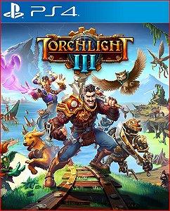 Torchlight III PS4 MÍDIA DIGITAL - LANÇAMENTO