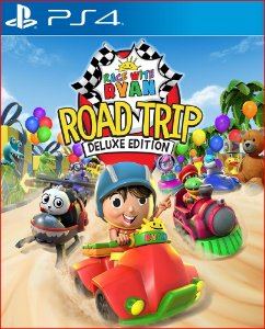 RACE WITH RYAN ROAD TRIP DELUXE EDITION PS4 MÍDIA DIGITAL