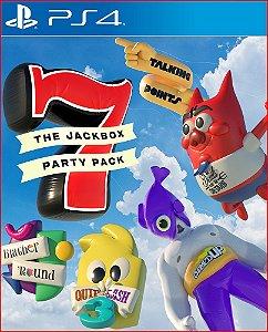 The jackbox party pack 7 PS4 MÍDIA DIGITAL