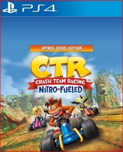 CRASH TEAM RACING NITRO-FUELED - NITROS OXIDE EDITION PS4 MÍDIA DIGITAL