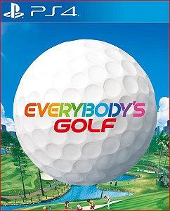 EVERYBODY'S GOLF PS4 MÍDIA DIGITAL PROMOÇÃO