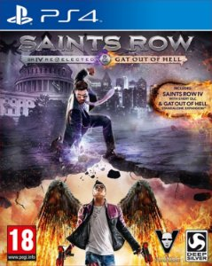 SAINTS ROW RE-ELECTED & GAT OUT OF HELL PS4 MÍDIA DIGITAL