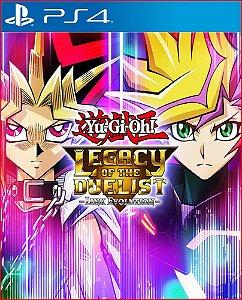 Yu-gi-oh! Legacy of The Duelist Link Evolution PS4 MÍDIA DIGITAL