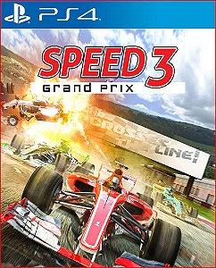 SPEED 3: GRAND PRIX PS4 MÍDIA DIGITAL