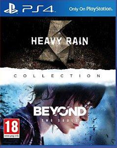 The heavy rain beyond two souls colletion PS4 E PS5 PSN MÍDIA DIGITAL